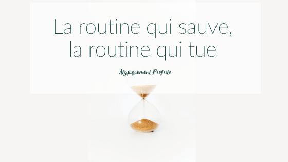 Routine. Alors que c'est rempli de bénéfices indéniables, la routine peut aussi user. Comment vous sentez-vous face à la routine? Elle vous aide ou elle vous use? #viedefamille #besoinsparticuliers #santémentale #rigidités #routine