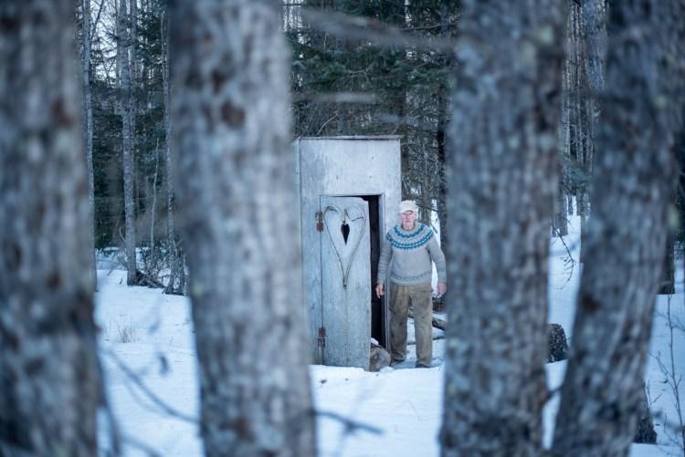 Atz Kilcher alaskan outhouse dunny wilderness toilet heart door