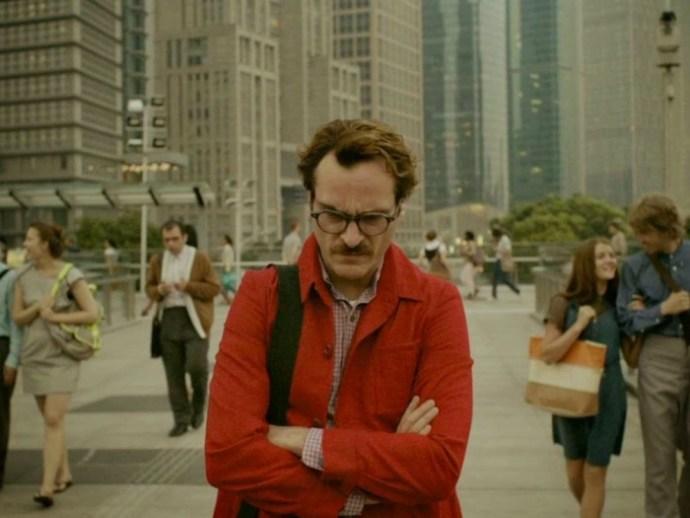 Joaquin Phoenix a la pel·lícula 'Her' de Spike Jonze