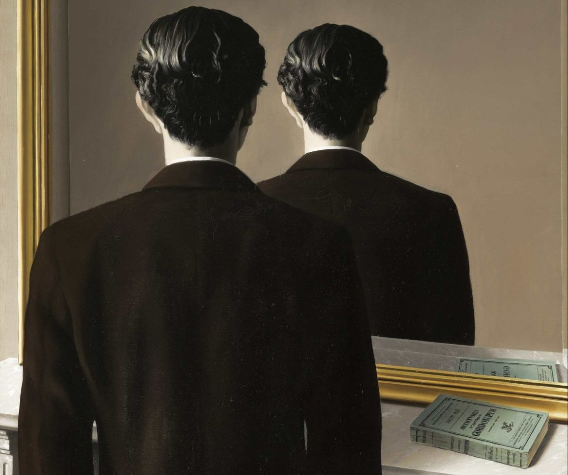 'Not to be reproduced' per René Magritte