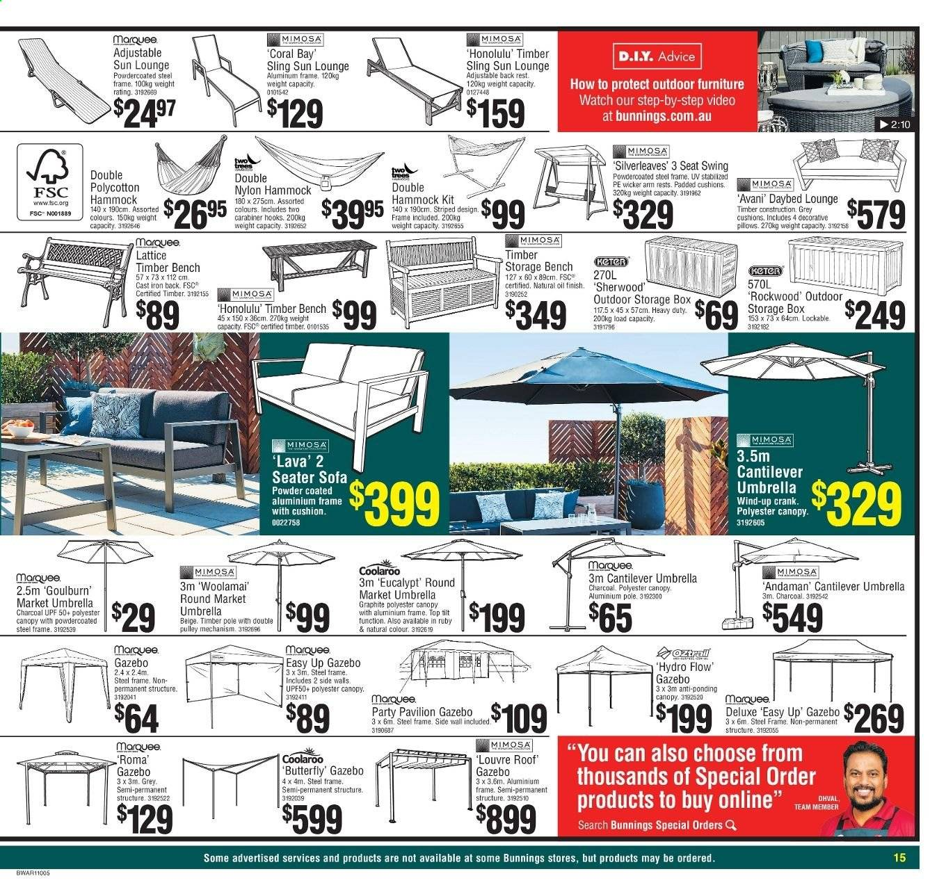 Bunnings Warehouse Catalogue And Weekly Specials Page 15 Au Catalogues