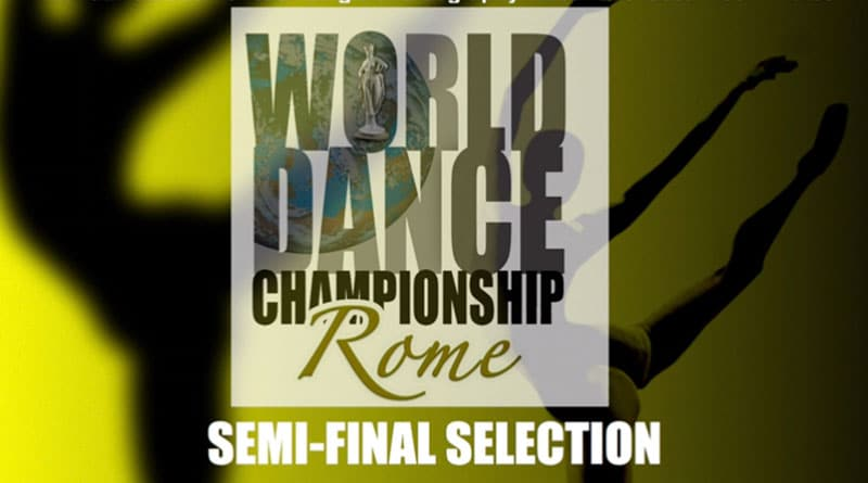 WORLD DANCE CHAMPIONSHIP -INTERNATIONAL COMPETITION DANCE IN ROME