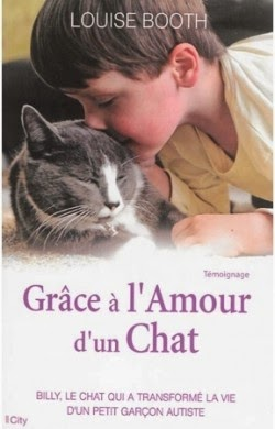 Grâce à l'amour d'un chat de Louise BOOTH