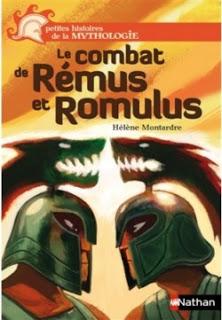 Le combat de Remus et Romulus de Hélène MONTARDRE