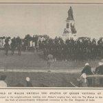 Erection de la stature de la Reine Victoria à Agra, ville d'origine d'Abdoul Karim