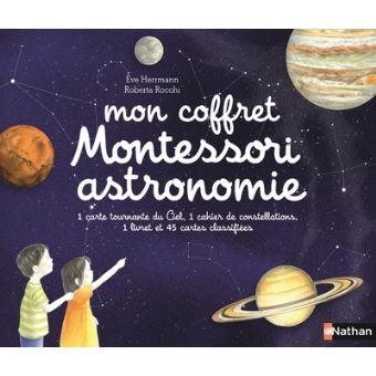 Mon coffret d'astronomie Montessori