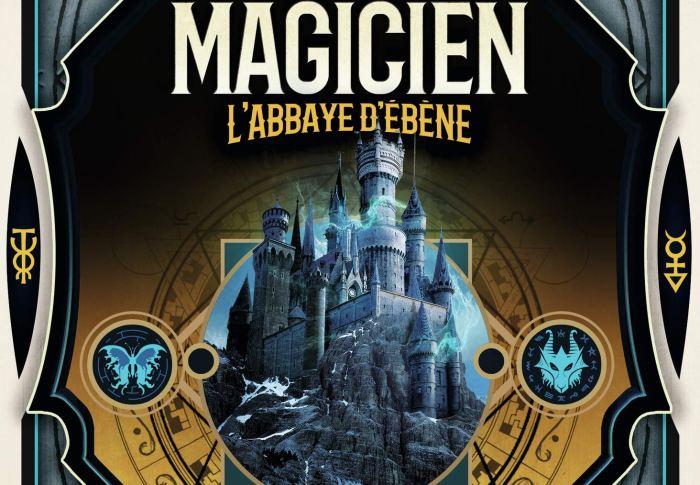 L'anti-magicien tome 4: L'abbaye d'ébène de Sébastien DE CASTELL