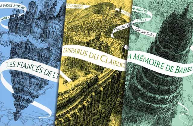 La passe-miroir tomes 1, 2 et 3 de Christelle DABOS