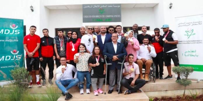 Tokyo 2021: la Fondation Mohammed VI des champions sportifs célèbre les athlètes médaillés