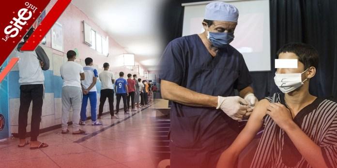 Casablanca: les jeunes détenus bénéficient de la vaccination (VIDEO)