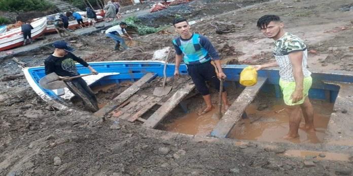 Inondations et dégâts matériels dans la région de Chefchaouen