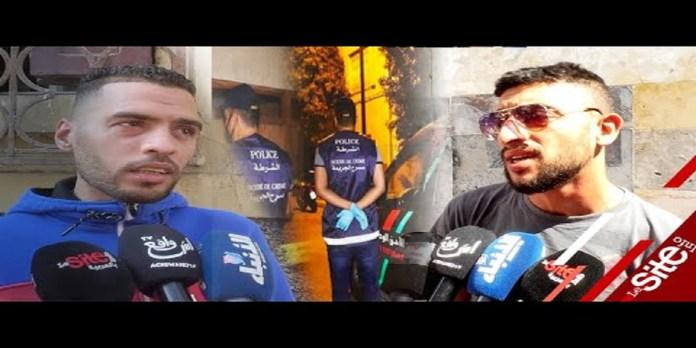 Meurtre de Sbata: les voisins se confient (VIDEO)