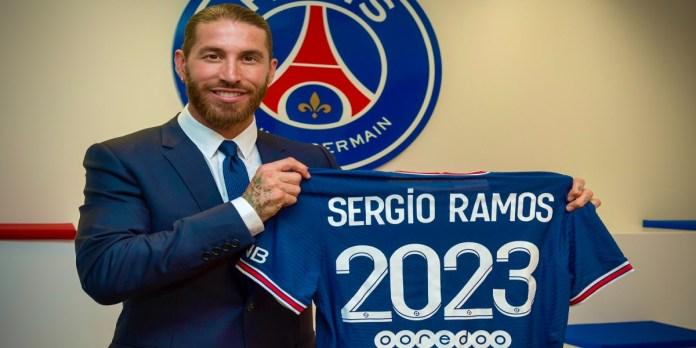 Mais que fait Sergio Ramos au PSG ?