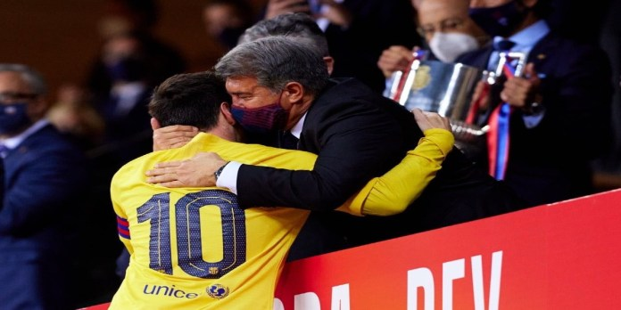 Barça: les révélations de Laporta sur le départ de Messi