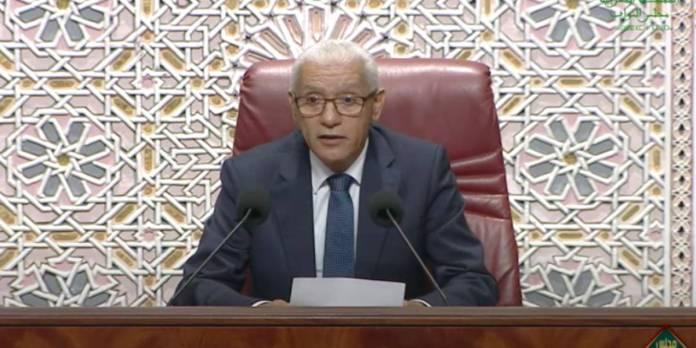 Ce qu'a dit Talbi Alami après son élection à la tête de la 1ère Chambre (VIDEO)