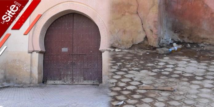 Marrakech: une porte historique vouée à l'abandon (VIDEO)