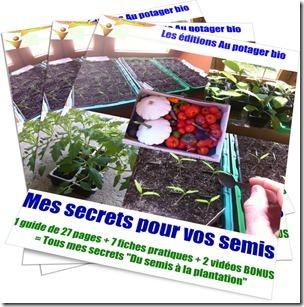 Mes secrets pour vos semis