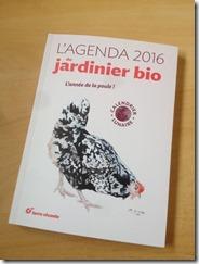 L'agenda du jardinier bio Terre vivante