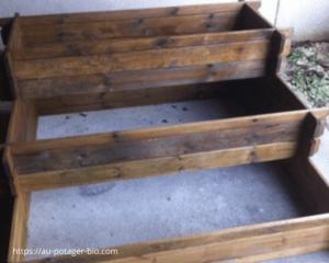 potager en escalier