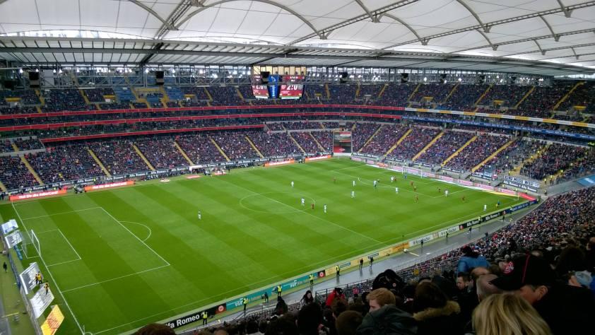 Eintracht Francfort - Hanovre 96 (14/15)