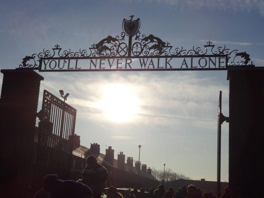 Liverpool - Sunderland dans la nouvelle tribune Main Stand