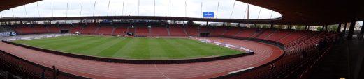 vue panoramique du stade de zurich