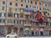 ville de gênes en jour de derby