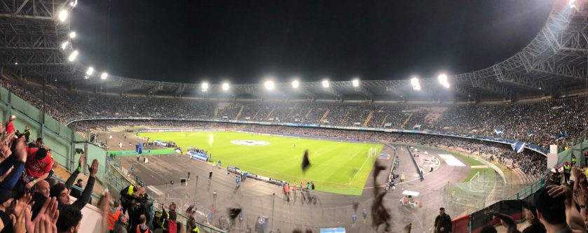 Le San Paolo contre Paris