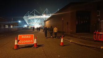 road closed vers st mary's stadium