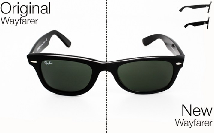 780f17e98e Ray- Ban Original Wayfarer vs New Wayfarer