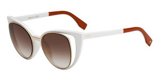 73b2ae630e The Fendi Paradeyes are some high-class cat-eye frames. The front lenses  separate from the frames ever so slightly to give this model their  signature look.