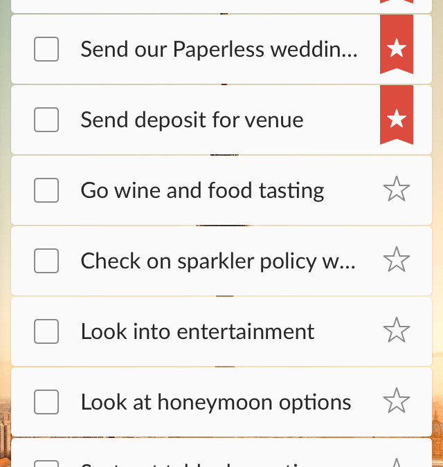 Paperless Planning with Wunderlist