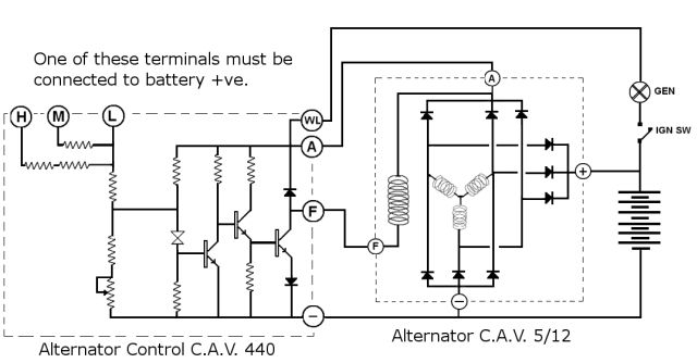 australian wiring diagram power circuit car security system rr forums: c.a.v voltage regulator/alternator query 1980 ss2