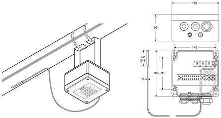 Thermostat Temperature Range Bimetallic Thermometer