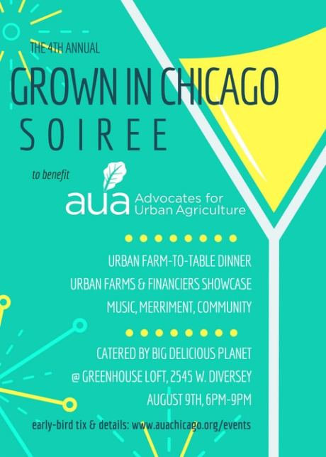 Save the Date Aug. 9th for AUA's Grown in Chicago Soirée!