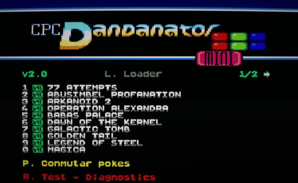 Pack de juegos para CPC Dandanator (del 1 al 10)