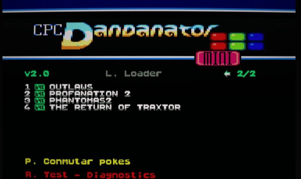 Pack de juegos para CPC Dandanator (del 11 al 14)