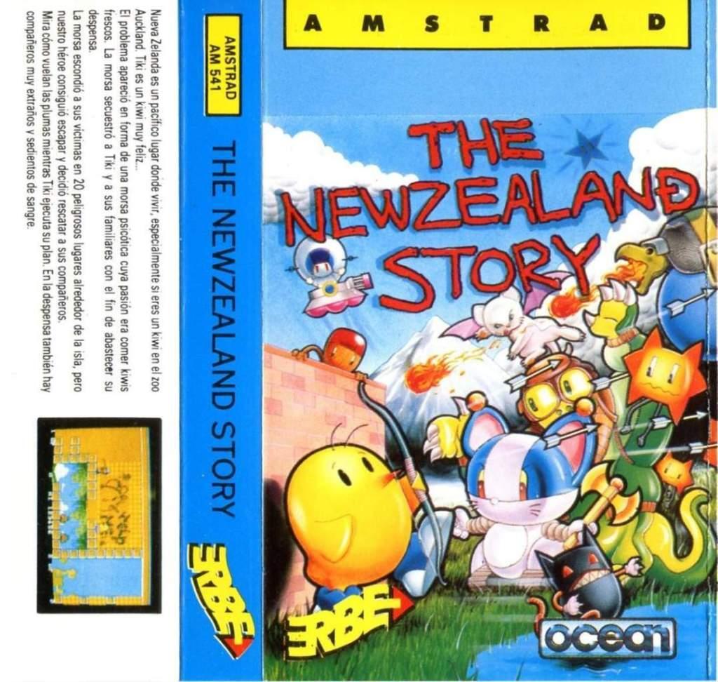 NewZealand Story Amstrad CPC