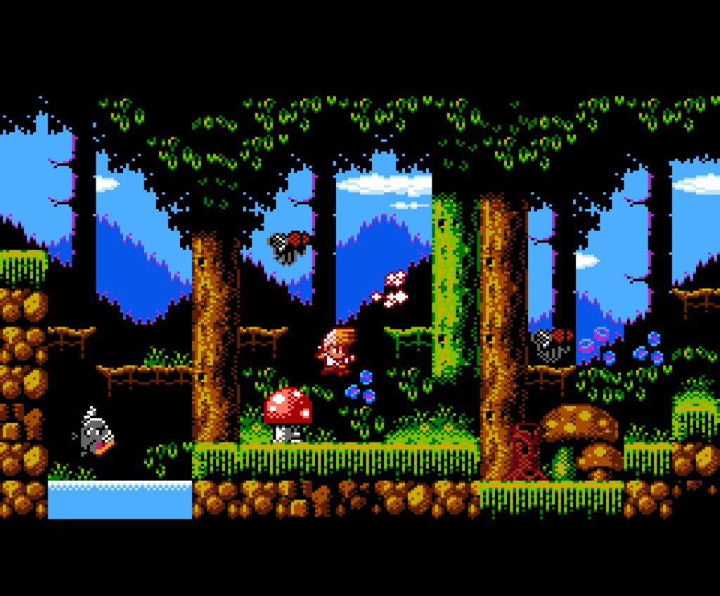 4mhz presenta Malasombra para NES 2