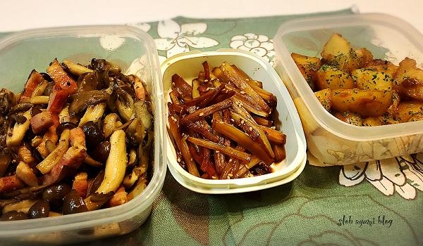 お弁当の常備菜~今週の作り置きおかずの簡単レシピ~