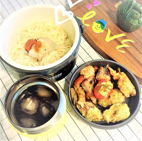 美味しい麺弁当【そうめん弁当】