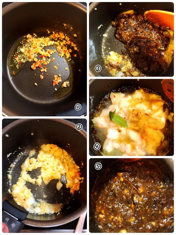 桃のチャツネの作り方レシピ