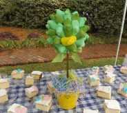 There were treats enough for everyone at the 1st Annual Spring Fling and Easter Egg Hunt held March 26 at Twin Gables. (Photo: Shellie Smitley)