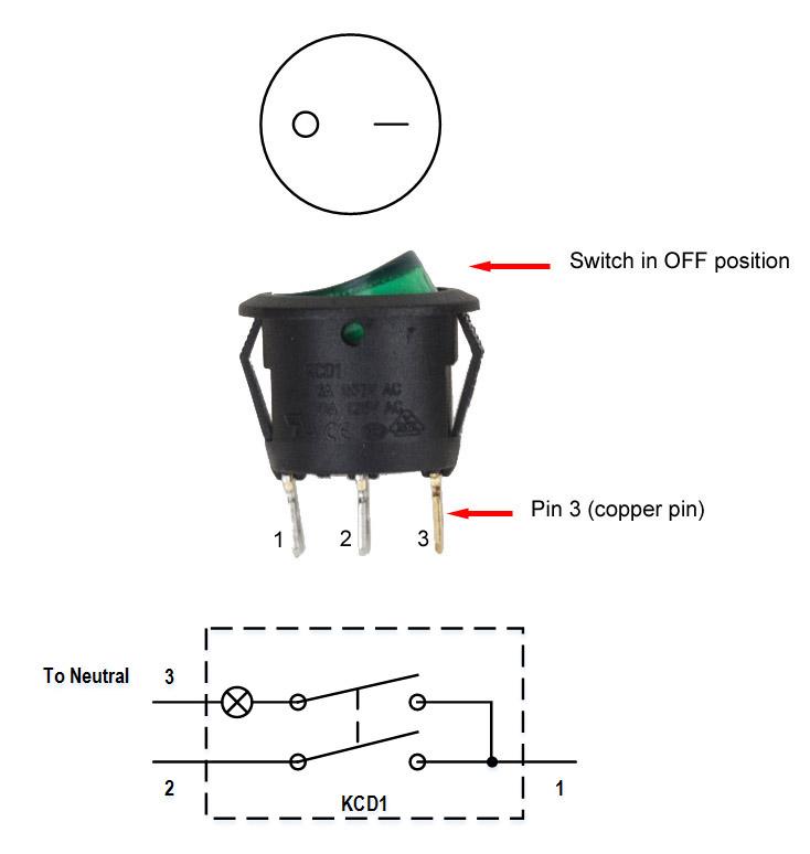 nema l14 30p wiring diagram 2 2009 hyundai sonata single pole throw rocker switch 120v 10a [kcd1] - $1.80 : auberins.com, temperature ...