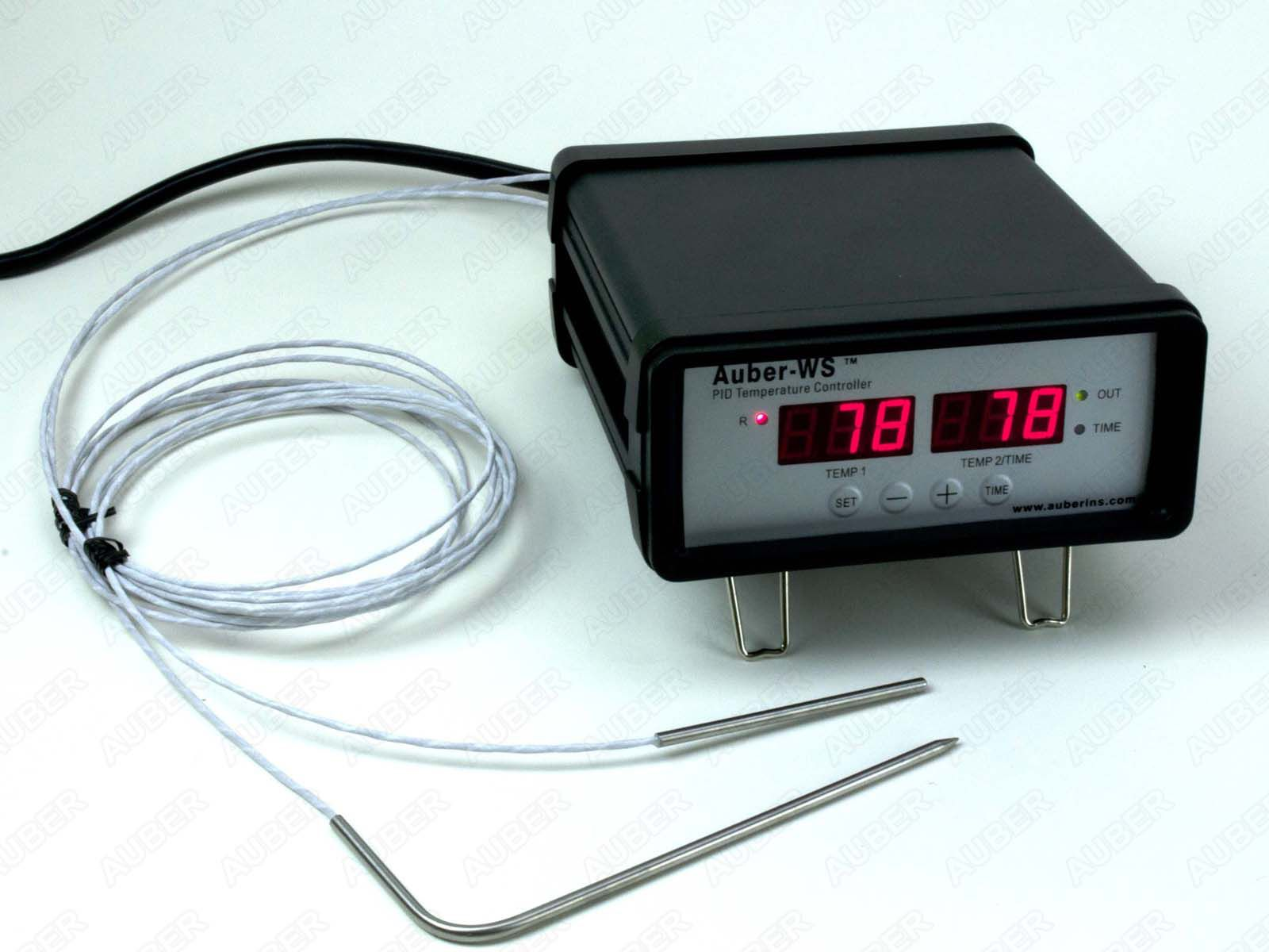 Heat Probe Pid Wiring Diagram Smoker Temperature Controller Dual Probes 1800w Ebay