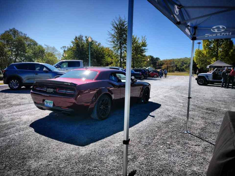 2020 Dodge Challenger Hellcat Redeye Widebody - WAPA Rally 2019