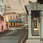 Infanta - Peinture de la Havane par Michelle Auboiron