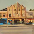 Cinéma Arsenal - La Havane - Une oeuvre de Michelle Auboiron