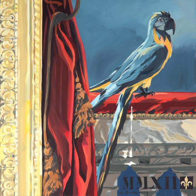 Oh! Jacquot - Détournement des tableaux officiels du Château de Versailles par Michelle Auboiron