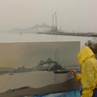 Michelle-Auboiron-Bridges-of-Fame-peinture-live-New-York-San-Francisco-2003--16 thumbnail